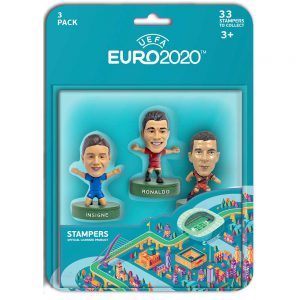 EURO 2020 stampers blister 3