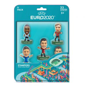 EURO 2020 stampers blister 5