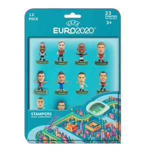 EURO 2020 stampers blister 12 (S1)