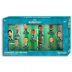 EURO 2020 stampers 11pcs dream team deluxe pack (S1)