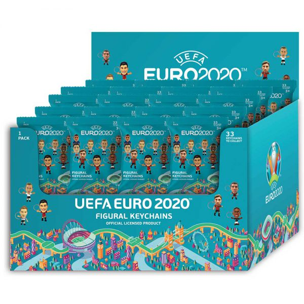 EURO 2020 3D figurine Key Chain - 36 characters available.