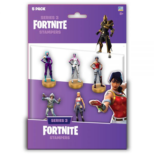 Fortnite stampers blister 5 pack (S3)