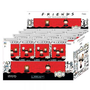 Friends Pencil Toppers 1 pcs blind foilbag (S1)