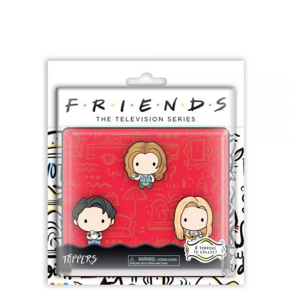 Friends Pencil Toppers blister 3 (S1)