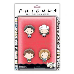 Friends Pencil Toppers blister 4 pack (S1)
