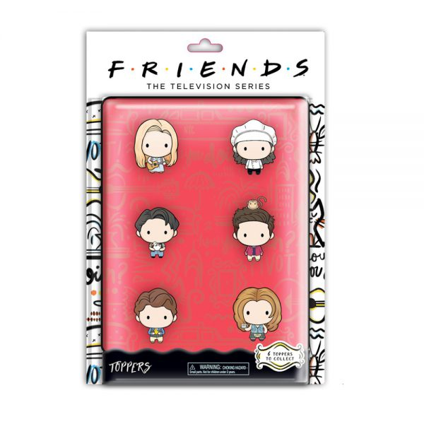 Friends Pencil Toppers blister 6 (S1)