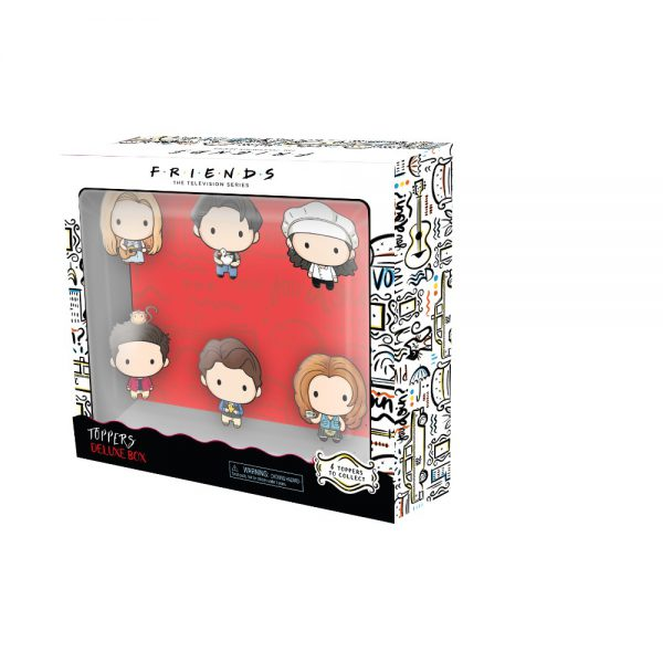 Friends Pencil Toppers 6 pcs deluxe pack (S1)