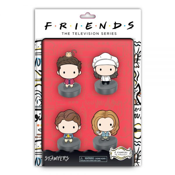 Friends stampers blister 4 pack (S1)