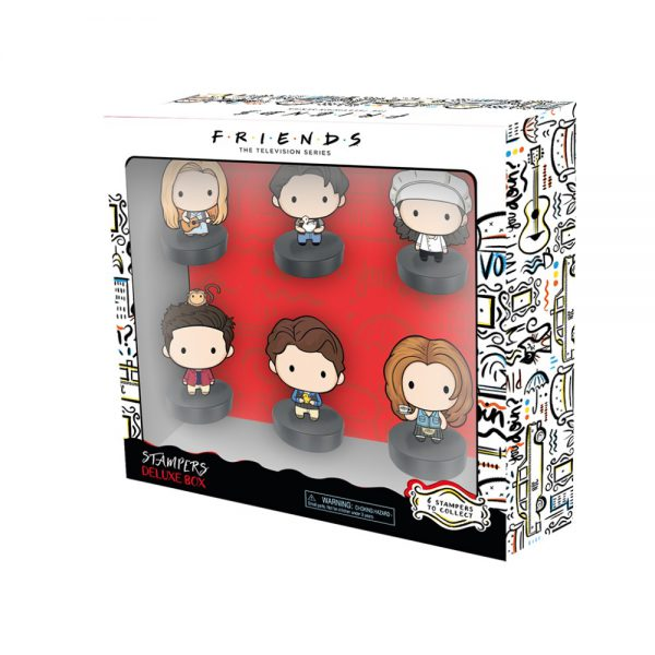 Friends stampers 6 pcs deluxe pack (S1)