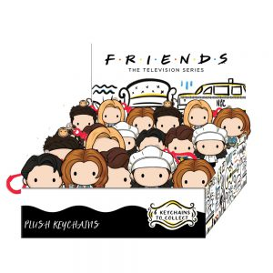 Friends plush Key Chain - 6 characters to collect