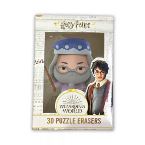 Harry Potter 3D Puzzle Erasers 1pk window box.