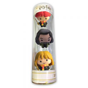 Harry Potter 3D Puzzle Erasers 3pk tube.