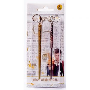 Harry Potter Magic Wands keychains 2pack blister