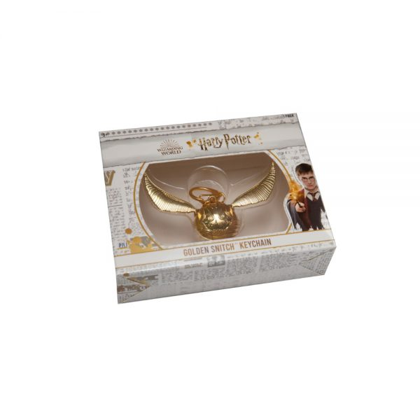 Harry Potter Golden Snitch keychain - 1pack Window box