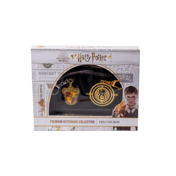 Harry Potter Metal Keychains Premium collection- 6pk Deluxe Box