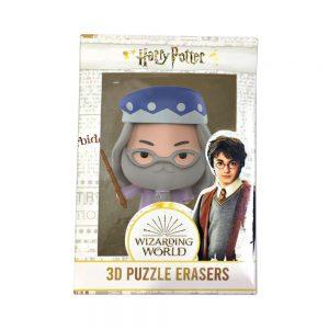 Harry Potter 3D Puzzle Erasers 5cm figure
