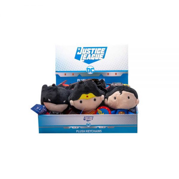 Justice League plush Key Chain - 4 characters to collect