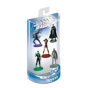 Justice League Pencil Toppers blister 5 (S1)