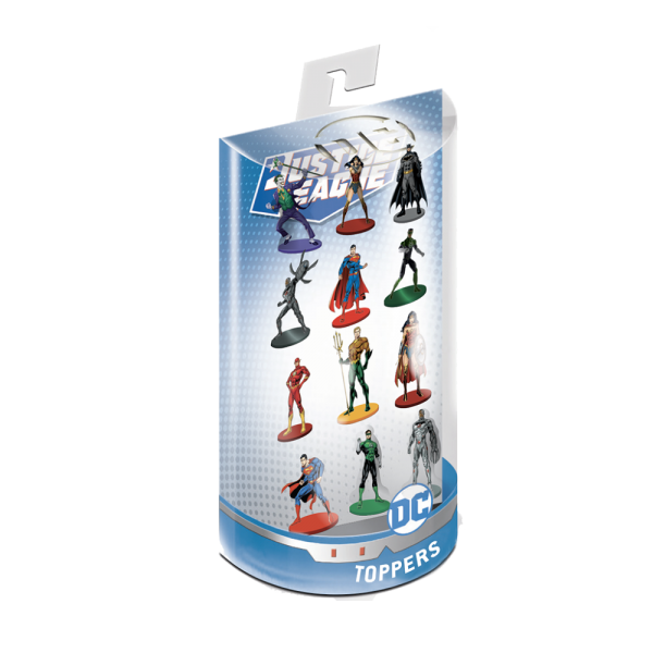 Justice League Pencil Toppers  blister 12 (S1)