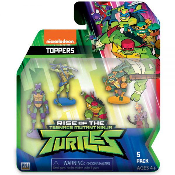 Ninja Turtles PENCIL TOPPERS blister 5 (S1)