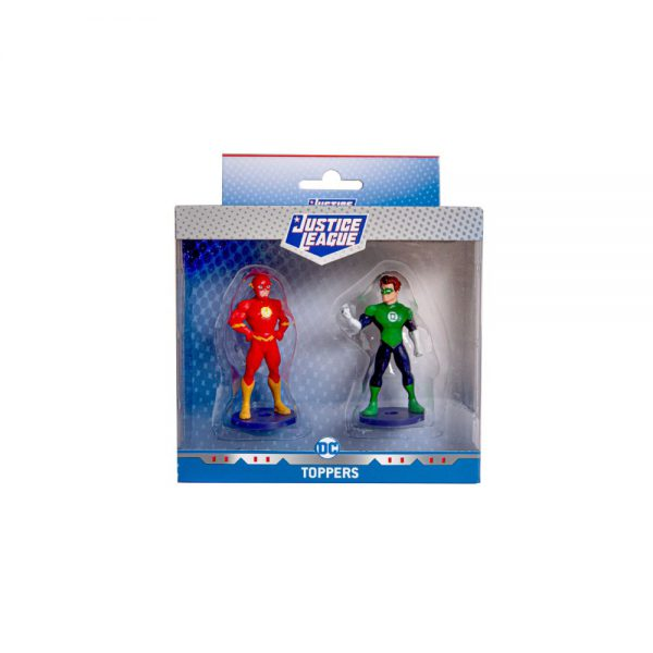 Justice League Pencil Toppers 2pk window box (S1)