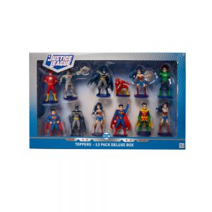 Justice League Pencil Toppers 12 pcs deluxe pack (S1)