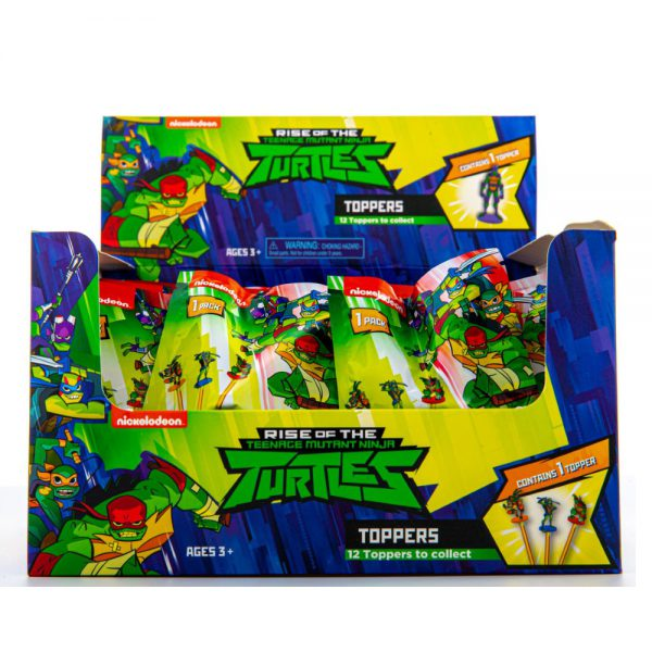 Ninja Turtles PENCIL TOPPERS 1 pcs blind foilbag (S1)