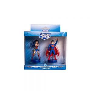 Justice League stampers 2pk window box (S1)