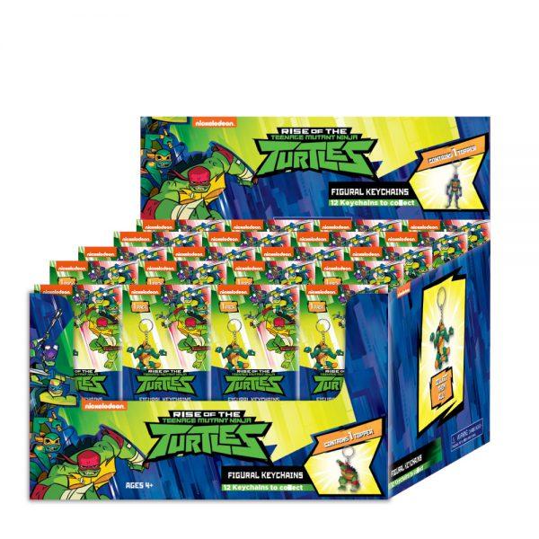 Ninja Turtles 3D figurine Key Chain - 24 characters available.