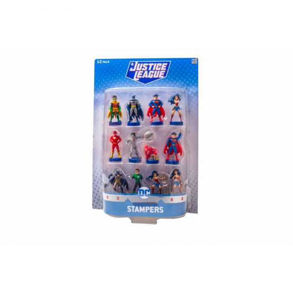 Justice League stampers blister 12 (S1)
