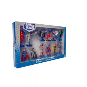 Justice League stampers 12 pcs deluxe pack (S1)