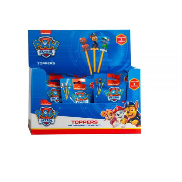 PAW Patrol PENCIL TOPPERS 1 pcs blind foilbag (S1)
