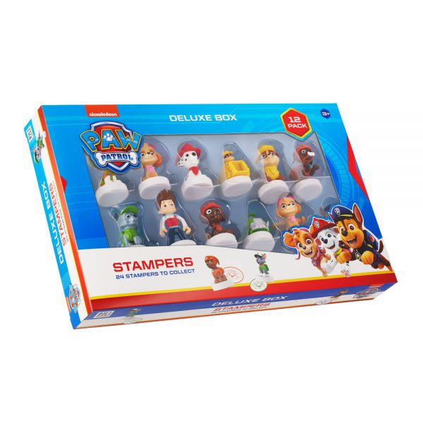 PAW Patrol stampers 12 pack deluxe box (S1)