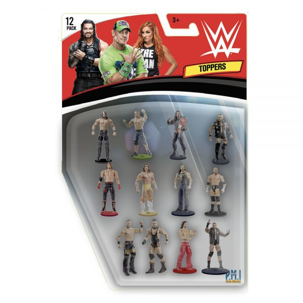WWE Pencil Toppers blister 12 (S1)