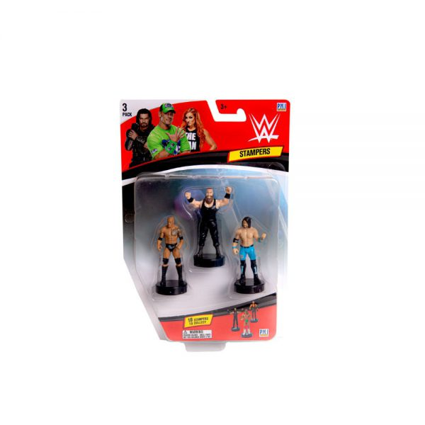 WWE stampers blister 3 (S1)