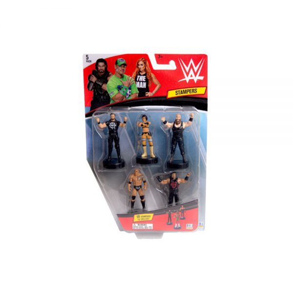 WWE stampers blister 5 (S1)