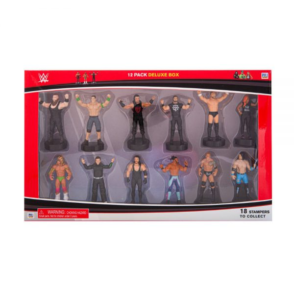 WWE stampers 12 pcs deluxe pack (S1)