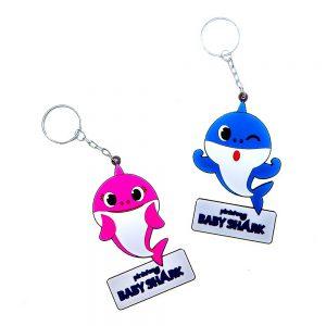 Baby Shark 2D Key Chain