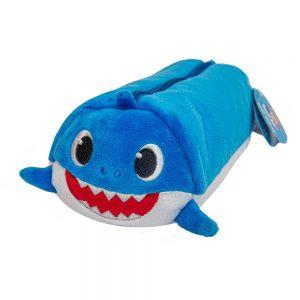 Baby Shark plush pencil case