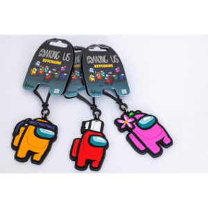 Among Us 2D keychains