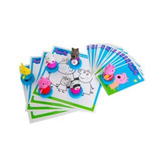 Peppa Pig games stampers kit