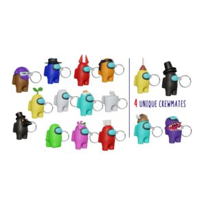 Among Us 3D keychains (VYNIL)